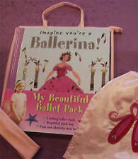 NEW - MY BEAUTIFUL BALLET PACK  Imagine You're a ballerina book / Pink bag /band