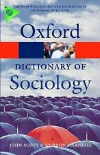 A Dictionary of Sociology (Oxford Quick Reference), Marshall, Gordon, Scott, Joh