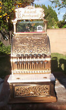 PROF. REST'D MODEL 250 NCR BRONZE CASH REGISTER NCR CANDY STORE