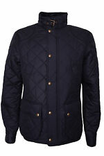 CLEARANCE / SALES  Ralph Lauren Mens Black Quilted Jacket Size XL