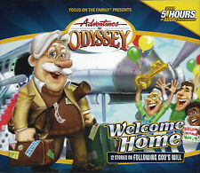 NEW Welcome Home #28 Adventures in Odyssey 4 Audio CD Vol Set Volume Wise Choice
