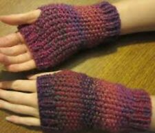 Knitting Pattern For Wrist Warmers / Fingerless Gloves - Any Colour