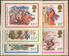 "LOT#259r - GB QEII 1982 ""CHRISTMAS - CAROLS"" PHQ CARD SET SERIES 64 MINT"