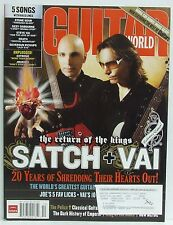 Joe Satriani Steve Vai Guitar World Magazine The Police AC/DC Collectors Ed