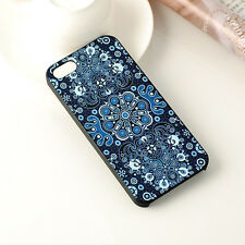Classical Floral Plastic Apple Iphone 5 5s Hard Back Case Cover Protector Skin