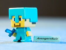 Minecraft Collectible Mini Figures Mattel Dig In! Series 3 Steve? Diamond Armor