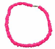 "Puka Shell 18"" Necklace-pink"