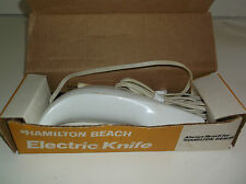 Hamilton Beach Electric Knife #275W White with box/paperwork, tested