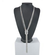 Fashion Women Gold Chain Choker Chunky Statement Bib Necklace Pendant Jewelry