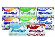 5 Pks Stevia SAMPLER Cinnamon Fruit Spearmint Mint Wintergreen Gum Sugar Free