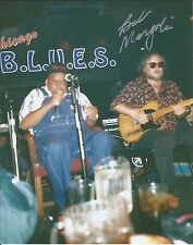 Steady Rollin Bob Margolin Signed Autographed 8x10 Photo Muddy Waters Blues B