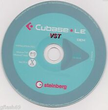Cubase Le-VST  Desktop Recording Studio - Music Production Software on DVD