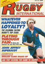 RUGBY INTERNATIONAL Apr 1986 BRITISH MAG St BRENDAN'S GLOUCESTER LIONS BRAZIL
