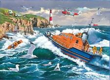 The House Of Puzzles 1000 PIECE JIGSAW PUZZLE  For Those In Peril RNLI Lifeboats