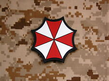 PVC Resident Evil Umbrella Corporation Patch Hook Backing