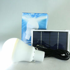 15W 150LM Portable Solar Energy Panel Lighting System Camping Bulbs Lamp #2