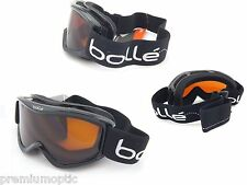 Bolle Amp Junior Para Niños esquí Gafas De Snowboard Negro Jump/Cítrico Oscuro