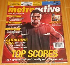 LEBRON JAMES METROACTIVE VOL. 2 NO. 3 DEC. '05 COLLECTIBLE MAGAZINE