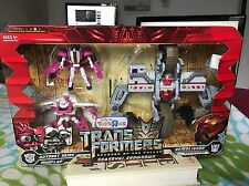 Transformers ROTF TRU EXCLUSIVE SHANGHAI SHOWDOWN DEMOLISHER VS. SKIDS MUDFLAP