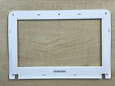 Samsung NP-NF110 LCD Surround Bezel Screen Trim Front White Frame BA75-02702B