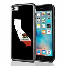 California State Outline For Iphone 7 Case Cover By Atomic Market