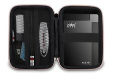 "NERO HARD SHELL CASE PER HARD DISK ESTERNO 2,5 ""SAMSUNG, WD MY PASSPORT"