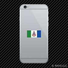 Yukon Flag Cell Phone Sticker Mobile Die Cut Canada yt province