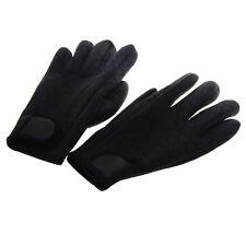 Neoprene Scuba Diving Snorkeling Surfing Spearfishing Water Sports Gloves Black