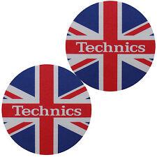 Slipmats Technics UK Flag / Union Jack (1 Paar / 1 Pair) NEU+OVP!