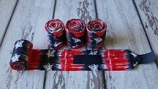 Horse Polo Leg Wraps Stable Wraps Polos SET OF 2 Patriotic Blue&Red with Stars