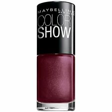 Maybelline Color Show Nail Lacquer Polish  WINE & DINED 420