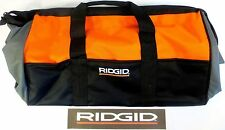 NEW RIDGID HEAVY DUTY LARGE (23X14X10) TOOL BAG DRILL IMPACT SAW CASE 18 V VOLT