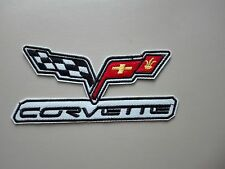 Ricamate patch Corvette Racing MOTORSPORT TUNING AUTOCROSS Biker immagine di staffa