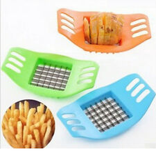 Kitchen Stainless Potato Chipper French Fries Slicer Chip Cutter Chopper Maker