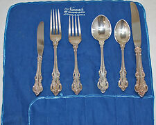 Towle Sterling Silver El Grandee Flatware 6 Pc set - 343 Grams