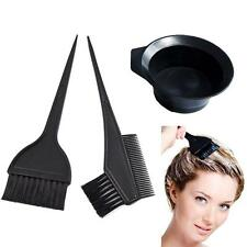 Hair Colouring Brush And Bowl Set Bleaching Dye Kit Salon Beauty Comb Tint Set.