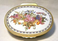 HALCYON DAYS ENAMEL SEVRES FLOWER BASKET WALLACE COLLECTION