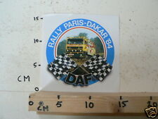 STICKER,DECALS DAF SET 5A 8 PARIS-DAKAR DAF TRUCK STICKERS 1984-1988