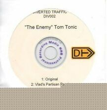 (P802) Tom Tonic, The Enemy - DJ CD