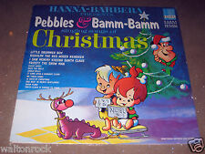 PEBBLES & BAMM-BAMM SINGING SONGS OF CHRISTMAS~RARE HANNA-BARBERA~1965~EX/EX