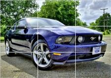 Ford Mustang Giant Section Poster 260gsm 126cm x 89cm