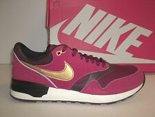 Nike Size 11 M Air Odyssey Red Leather Running Sneakers New Mens Shoes NWOB