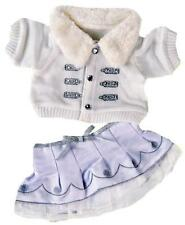 "15"" CHRISTMAS WINTER SILVER OUTFIT OUTFIT FITS 15"" BUILD A BEAR"