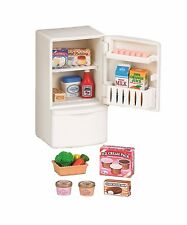 Sylvanian Families Doll Accessorry Furniture refrigerator and food set F/S Japan