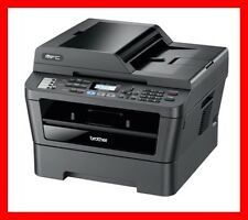 BROTHER MFC-7860DW Printer w/ NEW Toner & NEW Drum! - Totally CLEAN! - REFURB !!