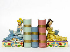 "DISNEY - Skulptur - ""BOOKENDS Cinderella & Belle"" Buchstütze Jim Shore 4033970"
