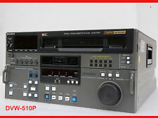 SONY DVW-510P DIGITAL BETACAM PROFI VIDEOPLAYER PLAYER 100% OK VTR SD PAL #I83