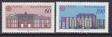 Germany 1601-02 MNH 1990 EUROPA Post Offices in Frankfurt am Main Set Very Fine