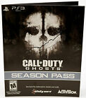 NEW Season Pass Sony PS3/PS4 Call of Duty Ghosts download code dlc playstation-4