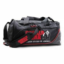 Gorilla Wear Jerome Gym Bag – Black/Red Sporttasche Tasche Schwarz/Rot